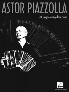 12 Piazzolla Tangos for Easy Piano Sheet Music Piano Book NEW 048023712
