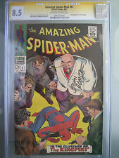 Amazing Spider-Man #51 CGC 8.5 Signature Series **Signed Romita** 2nd Kingpin
