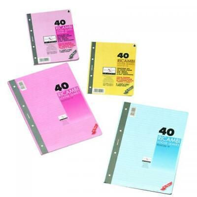 Espressive Ricambio A4 Colorato Rig.5m 00629025m Imballaggio Di Marca Nominata