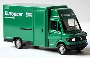 Mercedes Benz 310 D Trasportatore Europcar Autonoleggio 1:87 Herpa 042673