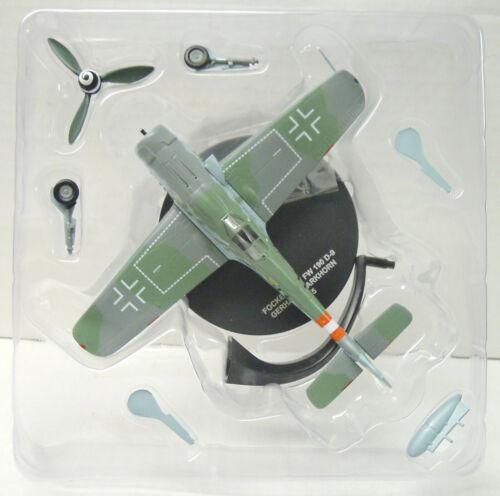 Focke-Wulf Fw-190 D-9 Metall, Atlas 1:72 Gerhard Barkhorn Fertigmodell