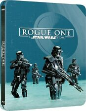 Rogue One: A Star Wars Story 3D (2000 ONLY Zavvi Ltd Ed Blu-ray Steelbook) - OOP