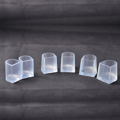 1-5 Pairs Clear Wedding High Heel Shoe Protector Stiletto Cover Stopper M/&C