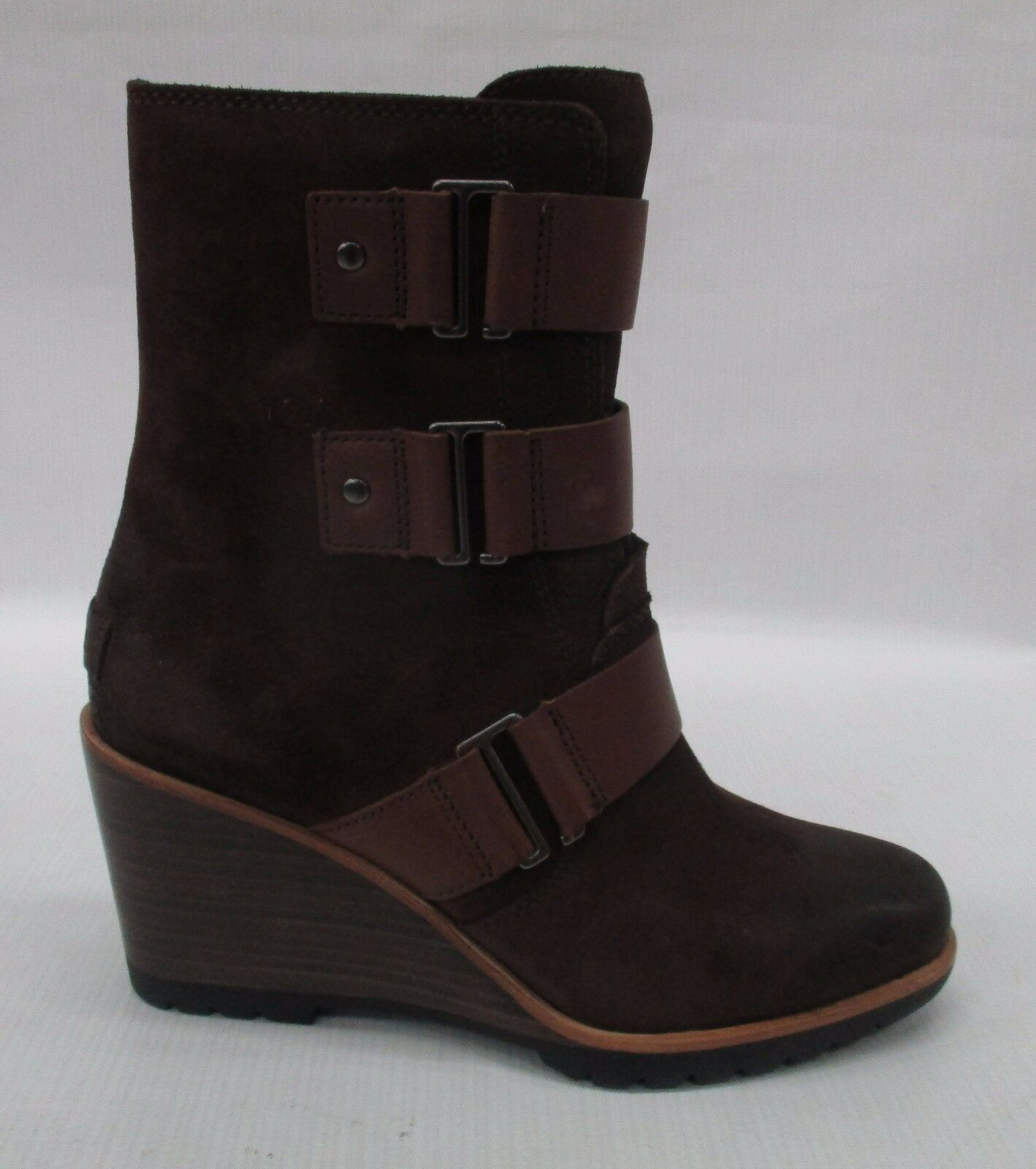 Sorel Donna After Hours Suede Bootie Stivali 1757751 Tobacco Size 8.5