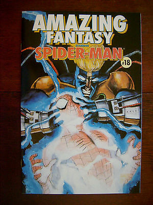 Amazing Fantasy #18 Marvel 1996 Spider-Man SIGNED/ AUTO by Kurt Busiek 9.6 NM+