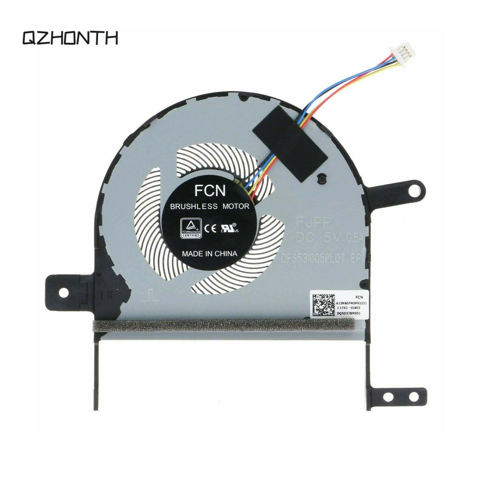 New CPU Cooling Fan For ASUS VivoBook S15 S510 S510U S510UA S510UQ X510 X510U