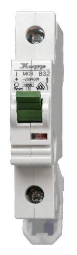 KOPP Leitungsschutzschalter Sicherung Automat 1 polig B32 A