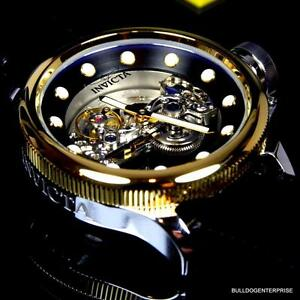 90c5d2c24 Image is loading Invicta-Russian-Diver-Ghost-Bridge-Automatic-Gold-Plated-