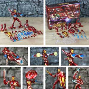 Marvel-6-034-Iron-Man-MK50-HT-Weapons-Set-Action-Figure-Ironman-Nano-Mark-50-85-HOT