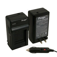 Battery Charger With Car Kit For Sony Np-bn1 Cyber Shot Dsc-w360 W350 W330 W320