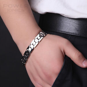 New-Titanium-Power-Ionic-Healing-Magnetic-Bracelet-Wristband-Band-w-Retail-Box