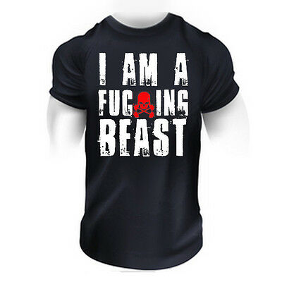 BODYBUILDING MMA KAMPF SUPER MOTIVATION BESTES KLEIDUNG TRAINIEREN MAN T-SHIRT