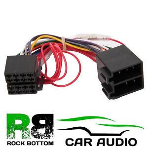 Admirable Stereo Wiring Harness Iso Aerial Adaptor Car Hifi Radio Adaptereu Wiring Database Ittabxeroyuccorg