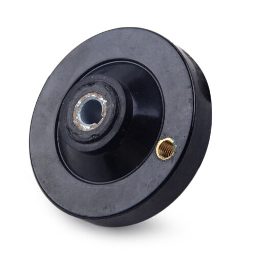 Black 63mm M6 fits for Lathe Milling Machine Hand Wheel w// Revolving Handle Grip