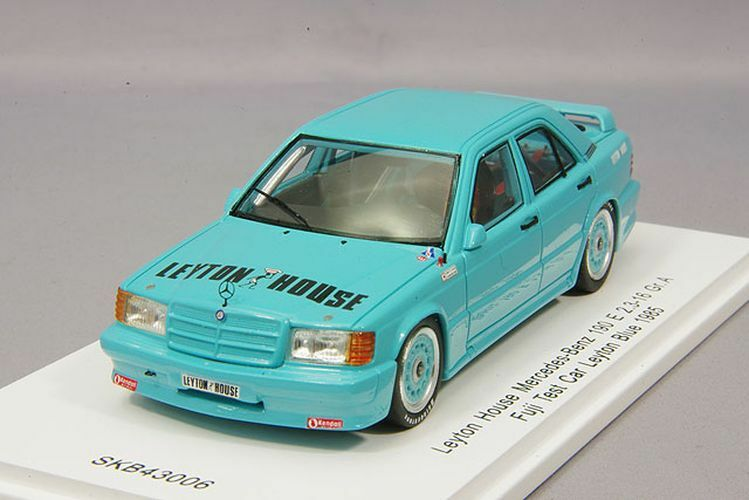 Spark 1/43 Leyton House Mercedes-Benz 190 E 2.3-16 Gr.A 1985 Fuji Test Car