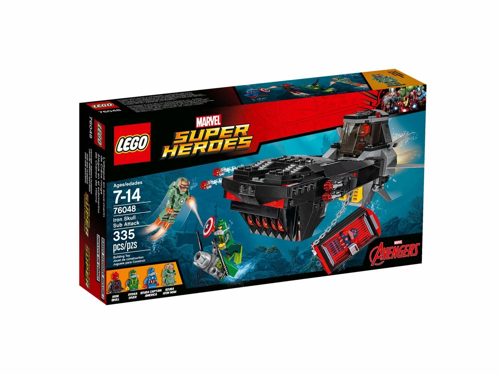 LEGO® 76048 Marvel Marvel Marvel Super Heroes Iron Skull Sub Attack e4bfb3