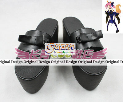 Fate Extra CCC Tamamo no Mae Boot Party Shoes Cosplay Boots Custom-made