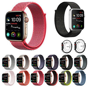 Woven-Nylon-Sport-Loop-Band-Strap-Bracelet-for-iWatch-Apple-Watch-Series-5-4-3-2