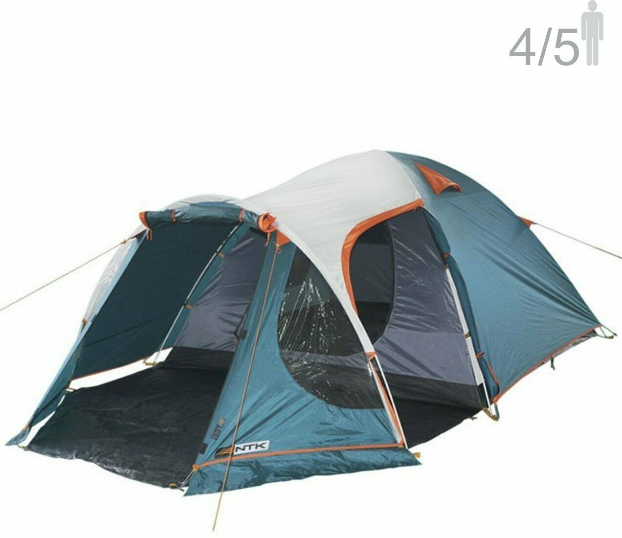 NTK INDY  GT 4 to 5 Person 12.2 by 8 Foot Outdoor Dome Family Camping Tent  outlet factory shop