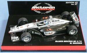 Wow Extrêmement Rare Mclaren 1999 Mp4 / 14 Mo Hakkinen GP France 1:43 Minichamps 4012138070820