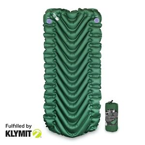 Klymit-Static-V-Short-Sleeping-Camping-Pad-Brand-New