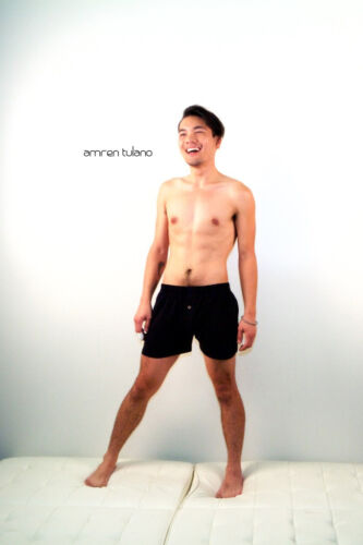 NWT Size M Black USA Amren Tulano Organic Cotton Underwear  Boxer