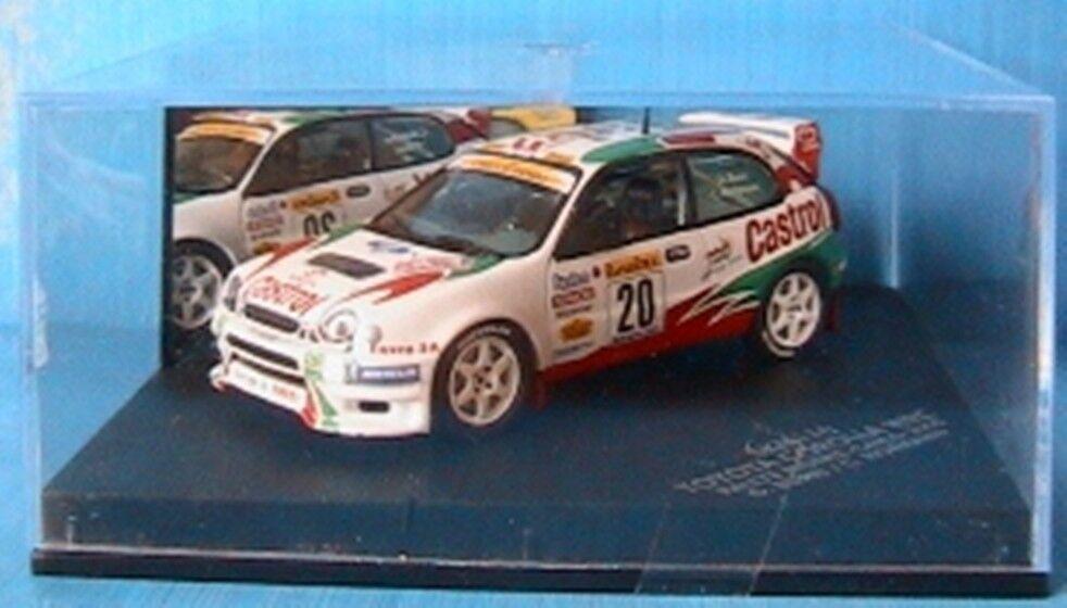 TOYOTA CorLLA WRC  20 2000 BURRI HOFMANN VITESSE SKM110 1 43 MONTE CARLO RALLY