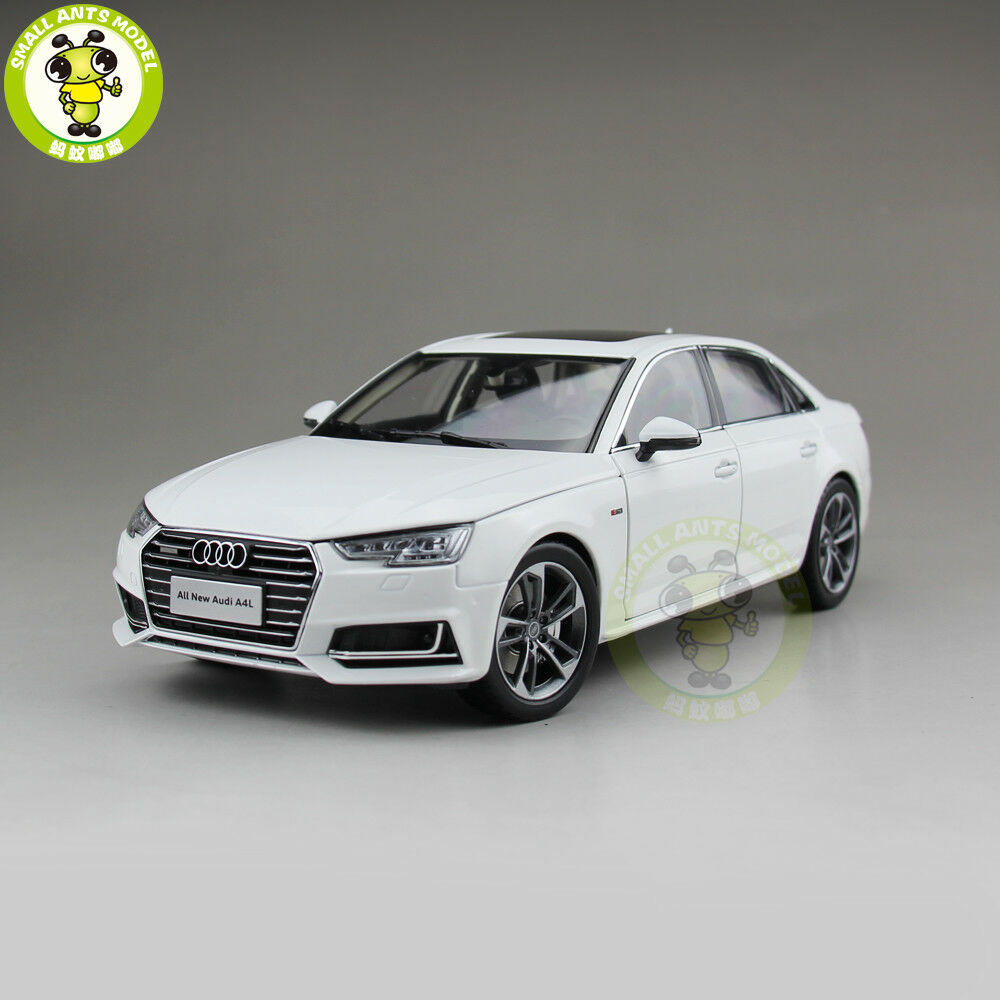 1 18 Audi A4L A4 Diecast Metal Car Model Toy Boy Girl Gift Collection White