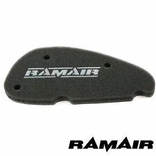 RAMAIR Panel Air Filter Race Twin Layer Foam Pad for Aprilia SR 50 Morini 00-03