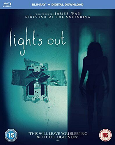 Lights Out [Blu-ray] [Includes Digital Download] [2016] [Region Free] [DVD]