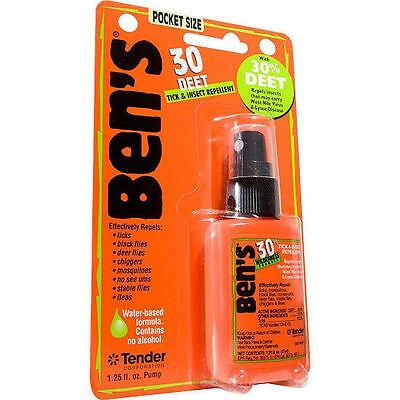 Ben's 30 Formula - 30% DEET Tick/Insect Bug Repellent 1.25 fl. oz. Pump Spray