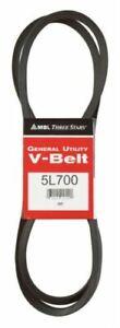 """MBL ThreeStars B67 5L700 5/8""""x70"""" V-Belt Fan Belt, New"""