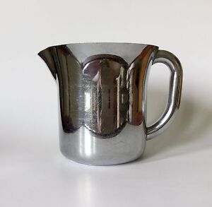 Vintage 1930s mid century russell wright chase chrome pitcher ebay - Russel wright pitcher ...