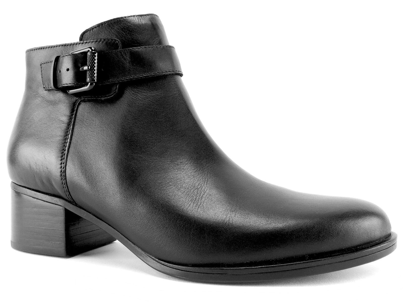 la migliore offerta del negozio online Naturalizer Donna  Dora avvioies nero nero nero Leather Dimensione 8.5 M  in vendita