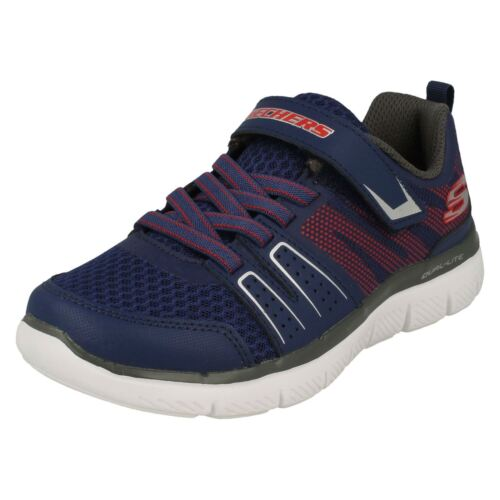 new concept f5b0b 29a07 97456 Trainers High rosso Flex 2 Navy Torque 0 Boys Skechers Casual  Advantage xCRzz0O