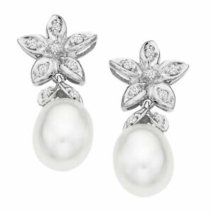 Freshwater-Pearl-and-1-10-ct-Diamond-Drop-Earrings-in-14K-White-Gold