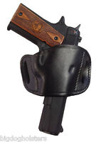 Browning Hi Power Leather Gun Holster Belt On Right Hand Draw   Choose Color