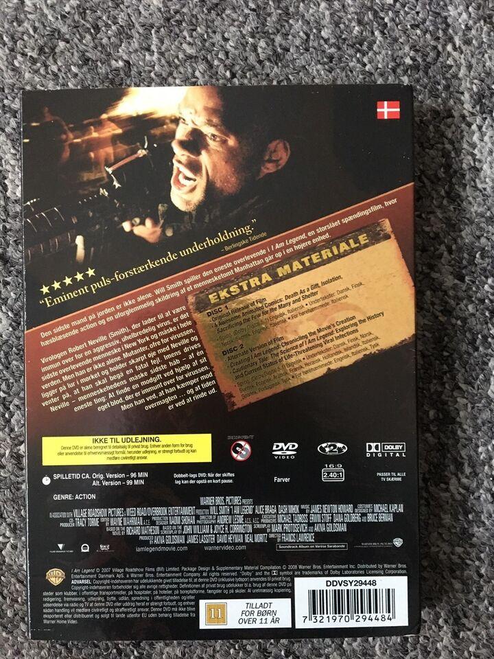 I AM LEGEND, DVD, action