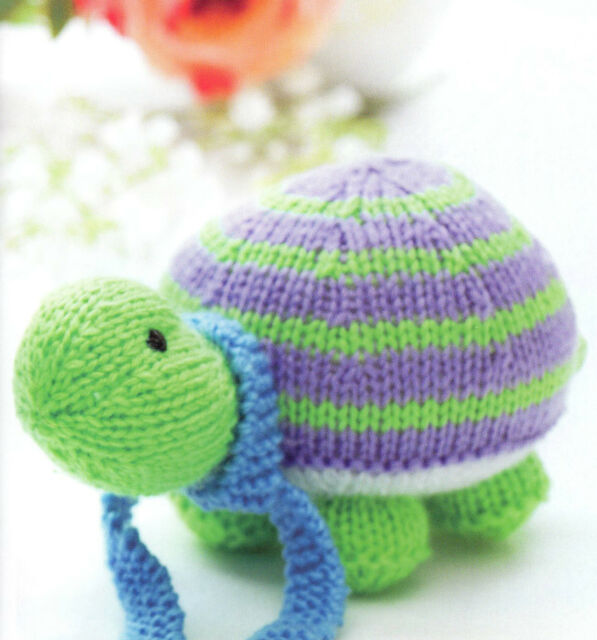 Owl And Tortoise Toy Knitting Pattern 99p Ebay