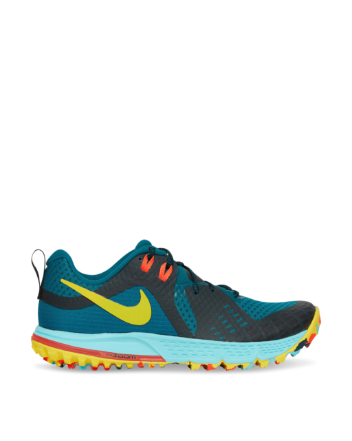 Nike Air Zoom Wildhorse 5 Trail Shoes Teal AQ2222-300 Size 9.5 US