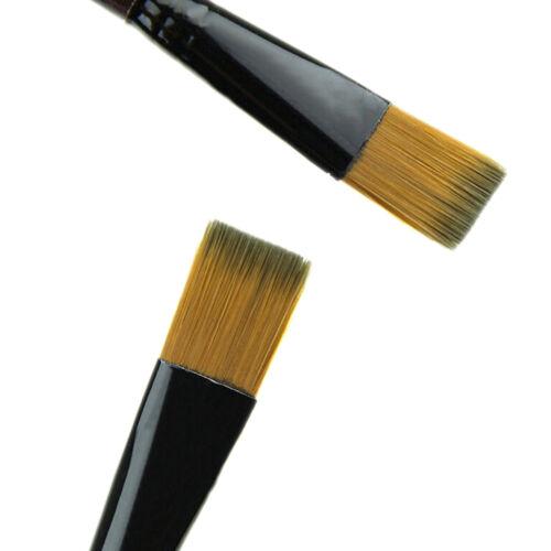 6Pcs//Set Nylon Acrylic Oil Paint Brushes For Art Artist Supplies Watercolor GS