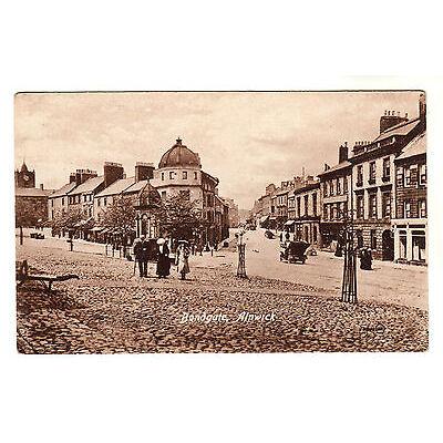 Bondgate - Alnwick Photo Postcard c1910