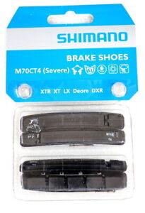 2 Pairs New Shimano Bike XTR XT LX Deore DXR M70CT4 MTB Cantilever Brake Pads