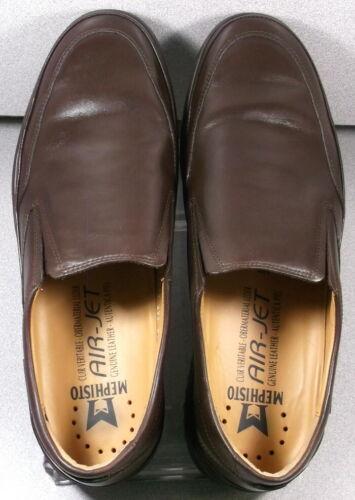 TWAIN DARK BROWN MMPF70 Men/'s Shoes Size 8 EUR 7.5 Leather Slip On Mephisto