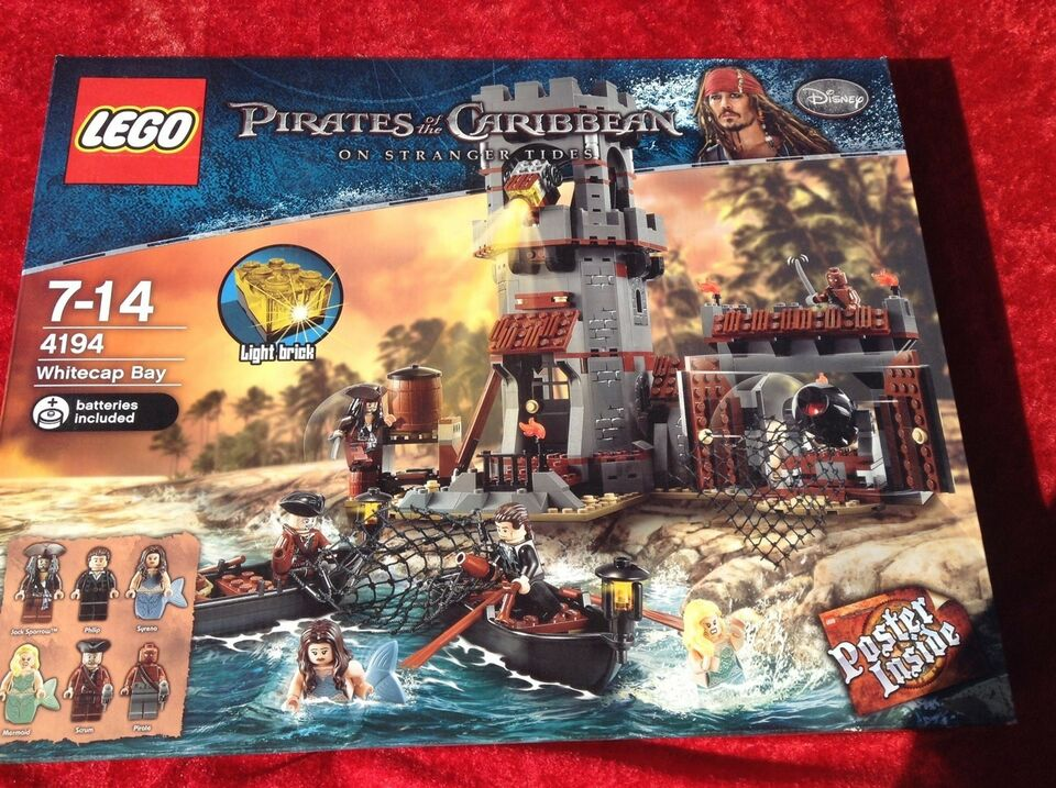 Lego Pirates of Caribbean, 4194