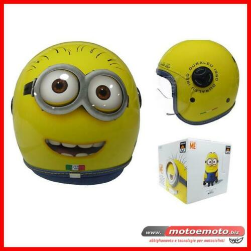 Duraleu Casco Bimbo Face Yellow Minions Scooter