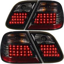 LED Rückleuchten Set Satz Mercedes CLK W208 97-02 4-teilig klar smoke schwarz