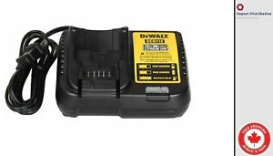 New Dewalt 12-Volt / 20-Volt MAX Lithium-Ion Battery Charger DCB112