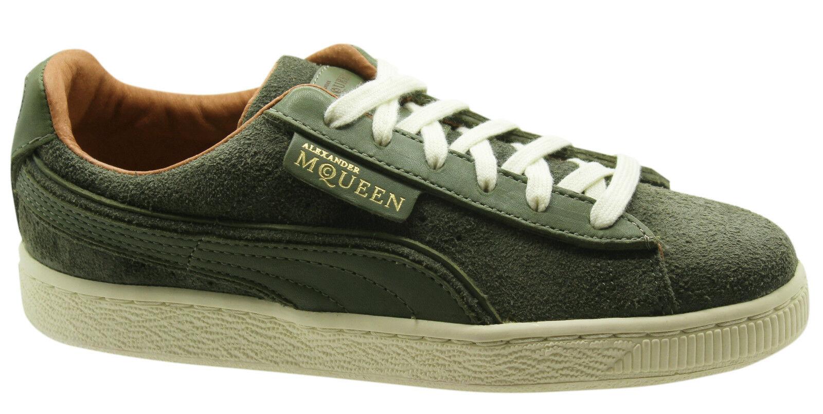 Puma Alexander McQueen AMQ Damenschuhe Suede Unisex  Uomo Damenschuhe AMQ Trainers Niedrig Schuhes 356231 393424