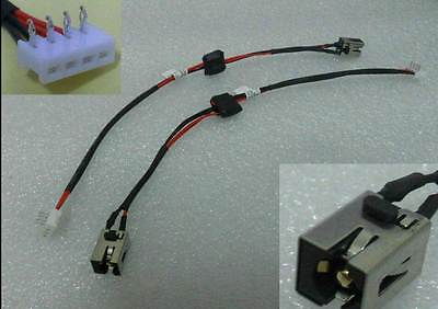 DC power jack cable harness for TOSHIBA SATELLITE P755-S5385 P755-S5390